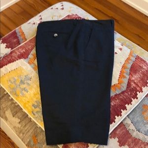 Theory Raw Silk Bermuda Shorts. Size 8.